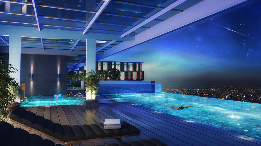 Infinity Pool On The Roof