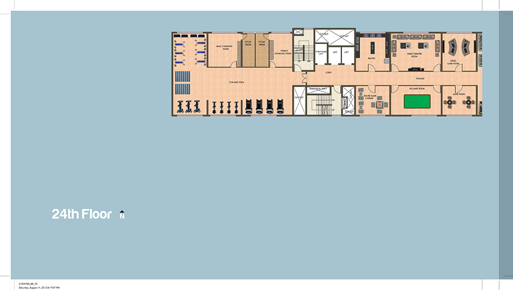 Tower 24th Floor Plan